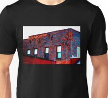 Red, White and Blue Building Unisex T-Shirt