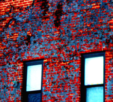 Red, White and Blue Building Sticker