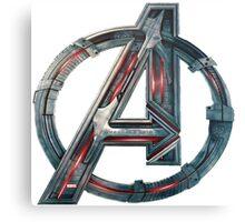 The Avengers-Age of Ultron Logo Metal Print