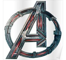 The Avengers-Age of Ultron Logo Poster