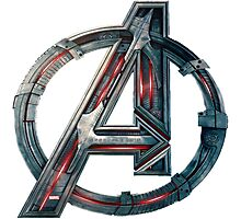 The Avengers-Age of Ultron Logo Photographic Print
