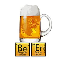 Beer Chemistry Photographic Print