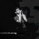 Ian Curtis by Simon Bowker