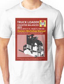Workshop Manual - Truck Loader CB AGV - BW Unisex T-Shirt