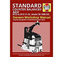 Workshop Manual - Standard CB AGV - BW Photographic Print