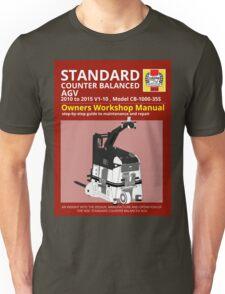 Workshop Manual - Standard CB AGV - BW Unisex T-Shirt