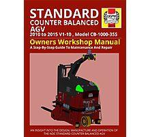 Workshop Manual - Standard CB AGV - Colour Photographic Print