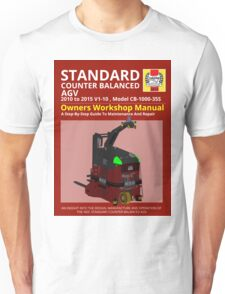 Workshop Manual - Standard CB AGV - Colour Unisex T-Shirt