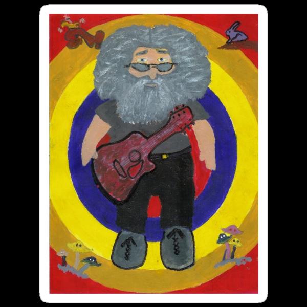 Jerry Garcia Doll by Carol Megivern