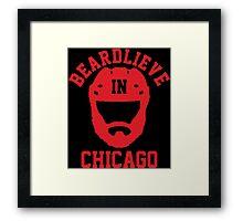 Beardlieve In Chicago Framed Print