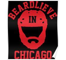 Beardlieve In Chicago Poster