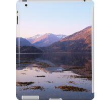 Loch Duich Sunrise iPad Case/Skin