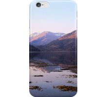 Loch Duich Sunrise iPhone Case/Skin