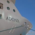 The Adonia in St Maarten by Keith Larby