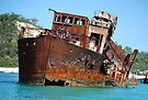 The Wrecks - Moreton Island by Barbara Burkhardt