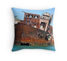 The Wrecks - Moreton Island Throw Pillow