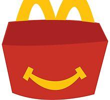 McDonalds Smiling Box by jjaysonn