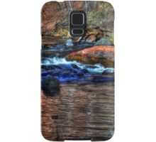 Small Cascade on Oak Creek North of Sedona Samsung Galaxy Case/Skin