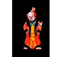DRUNK CLOWN Photographic Print