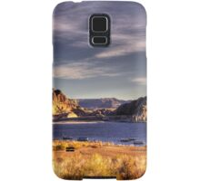 Lake Powell Harbor at Sunrise Samsung Galaxy Case/Skin