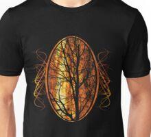 Burning tree Unisex T-Shirt