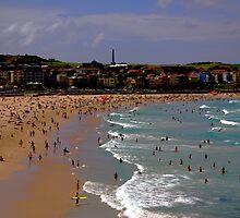 Bondi Beach, Sydney, Australia. by John Mitchell