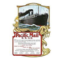 Pacific Mail Photographic Print