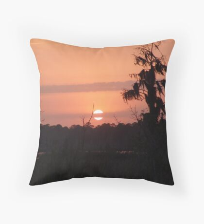 Eyeliner Throw Pillow