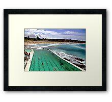 Bondi Beach, Sydney. Framed Print