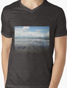 East Coast Seascape Mens V-Neck T-Shirt