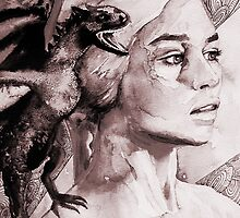 Game of Thrones - Daenerys Portrait by TylerMellark