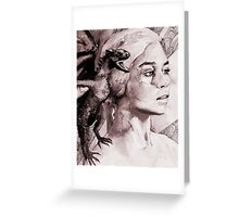Game of Thrones - Daenerys Portrait Greeting Card