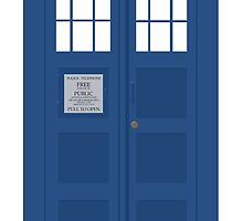 Dr Who T.A.R.D.I.S  by rosewelldesigns