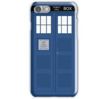 Dr Who T.A.R.D.I.S  iPhone Case/Skin