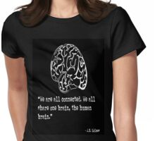 Connected Quote  Womens Fitted T-Shirt