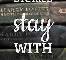 Harry Potter Book Quote by bagasbeside