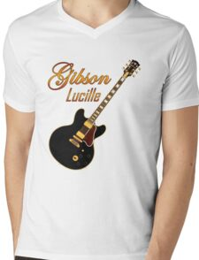 Wonderful Gibson Lucille Mens V-Neck T-Shirt