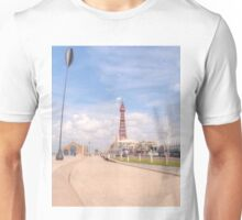 Blackpool Tower and Oar Unisex T-Shirt