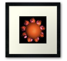 'That Spring Thing (pink)' Framed Print