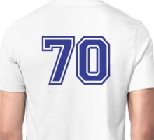 Number 70 Unisex T-Shirt