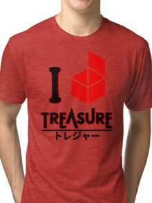 I love Treasure Tri-blend T-Shirt