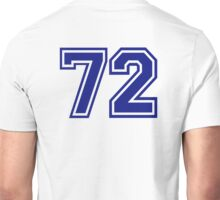Number 72 Unisex T-Shirt