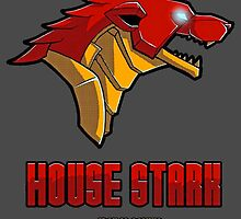 Game of Thrones / The Avengers - House Stark (Funny Iron Man Crossing) by TylerMellark