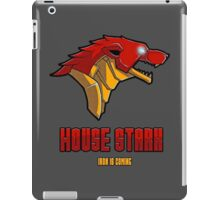 Game of Thrones / The Avengers - House Stark (Funny Iron Man Crossing) iPad Case/Skin