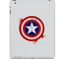 Captain America Shield - Vintage iPad Case/Skin