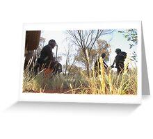 Warlpiri hunt Greeting Card