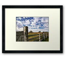 Alberta Farm Framed Print