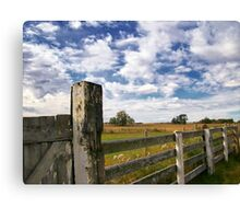 Alberta Farm Canvas Print