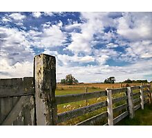 Alberta Farm Photographic Print