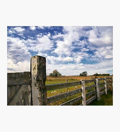 Alberta Farm Photographic Print